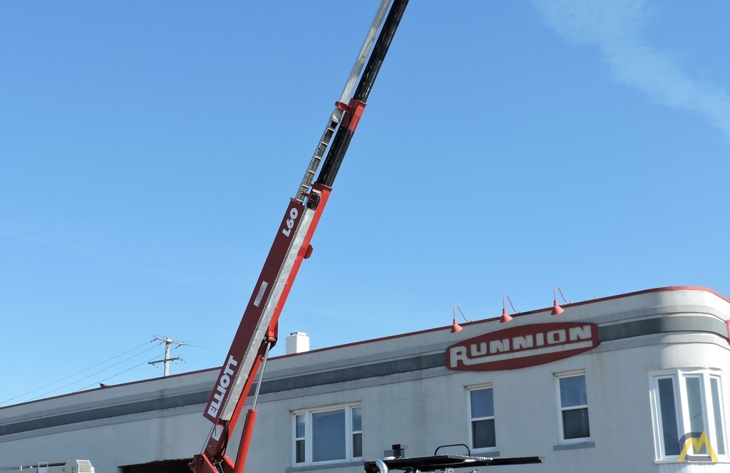 Elliott L60R 62' Aerial Work Platform on Peterbilt 337 3