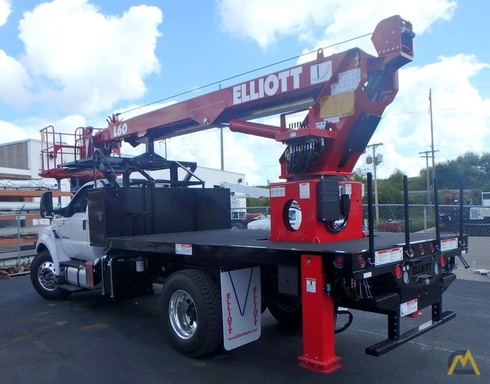 Elliott L60R on 2018 Ford F750, gasoline engine 2