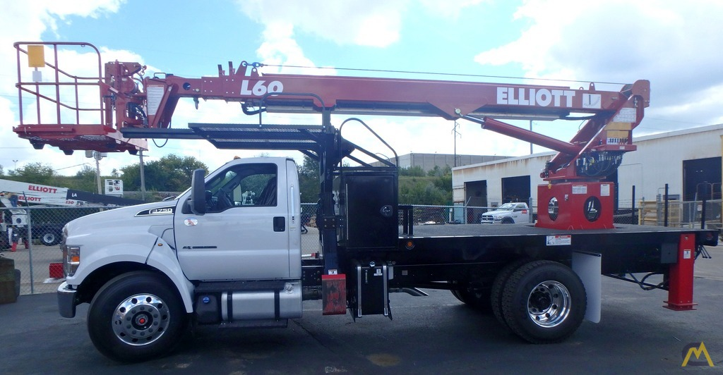 Elliott L60R on 2018 Ford F750, gasoline engine 0