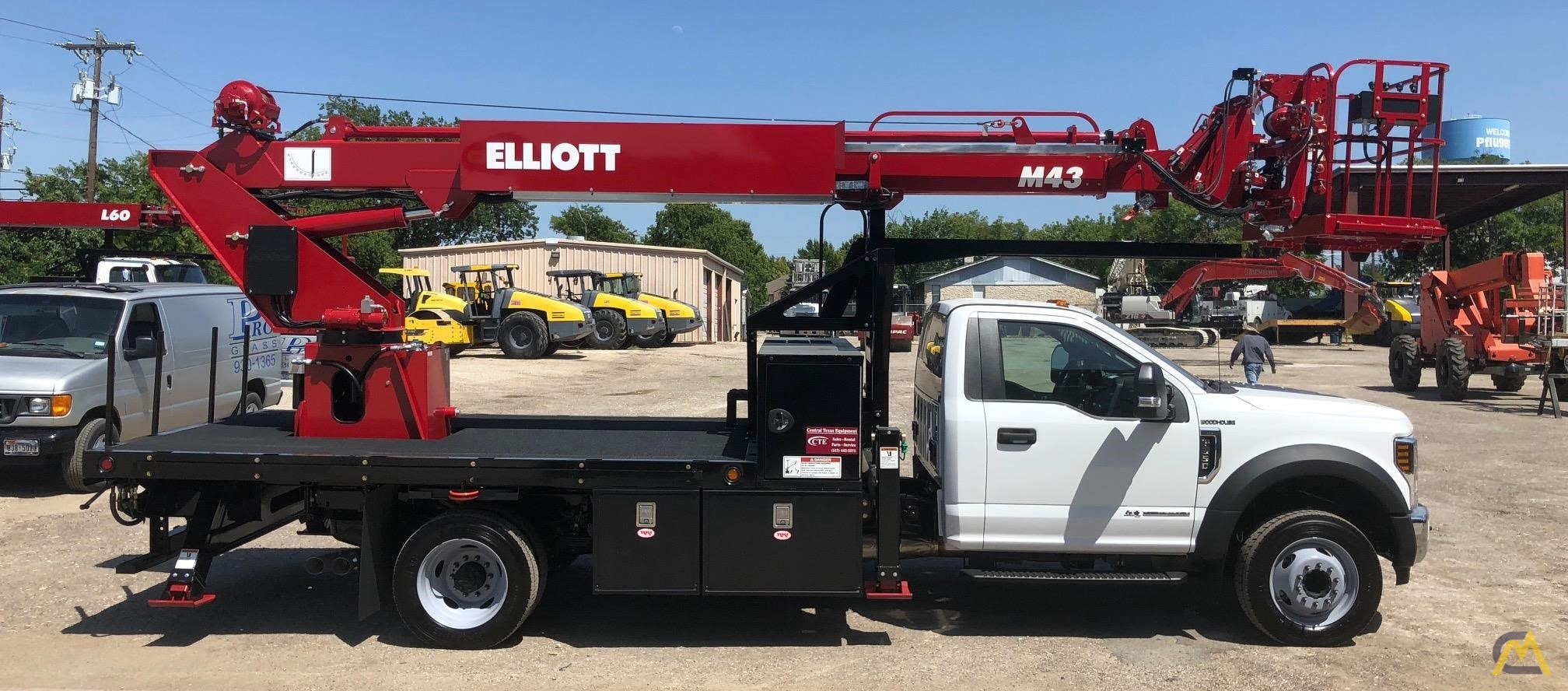 F550 For Sale >> Elliott M43r 43 Telescopic Aerial Work Platform On Ford F550 For Sale