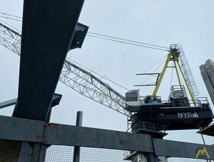 Favelle Favco M440D 55.1-Ton Luffing Boom Tower Crane 3