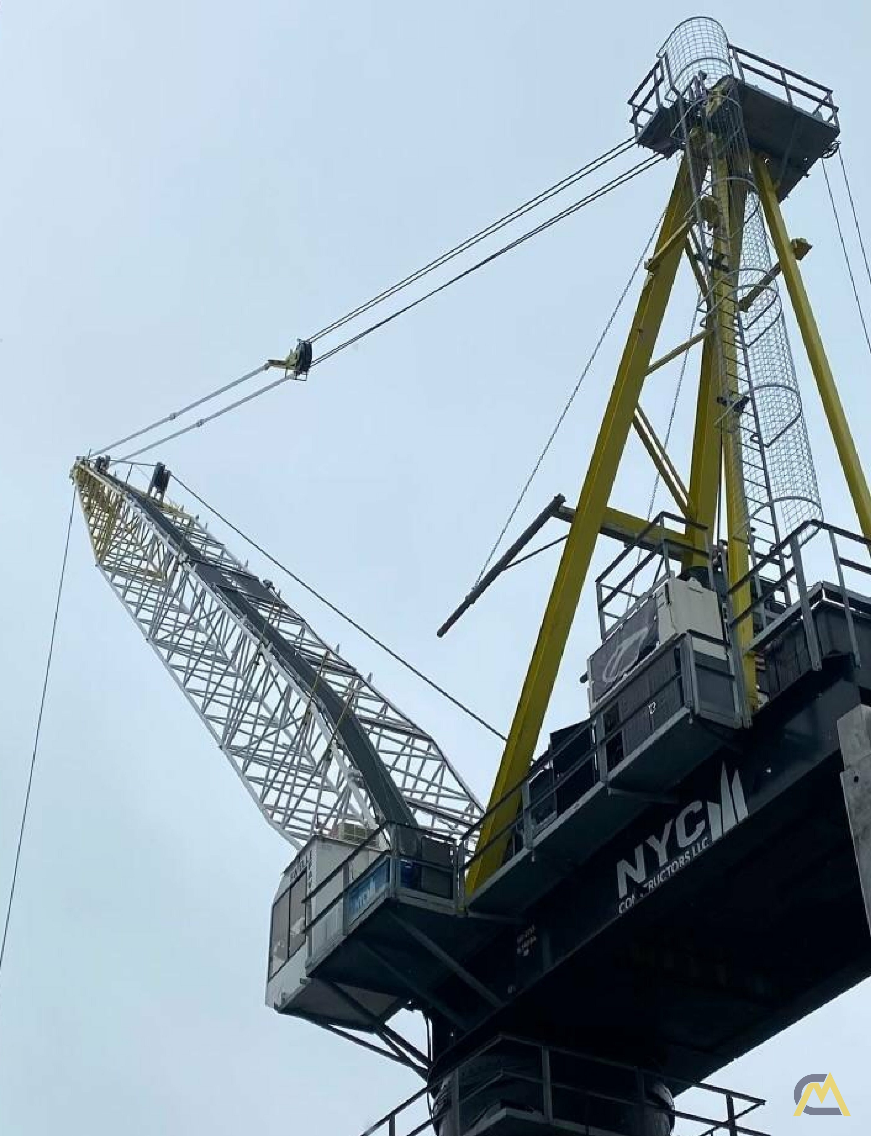 Favelle Favco M440D 55.1-Ton Luffing Boom Tower Crane 1