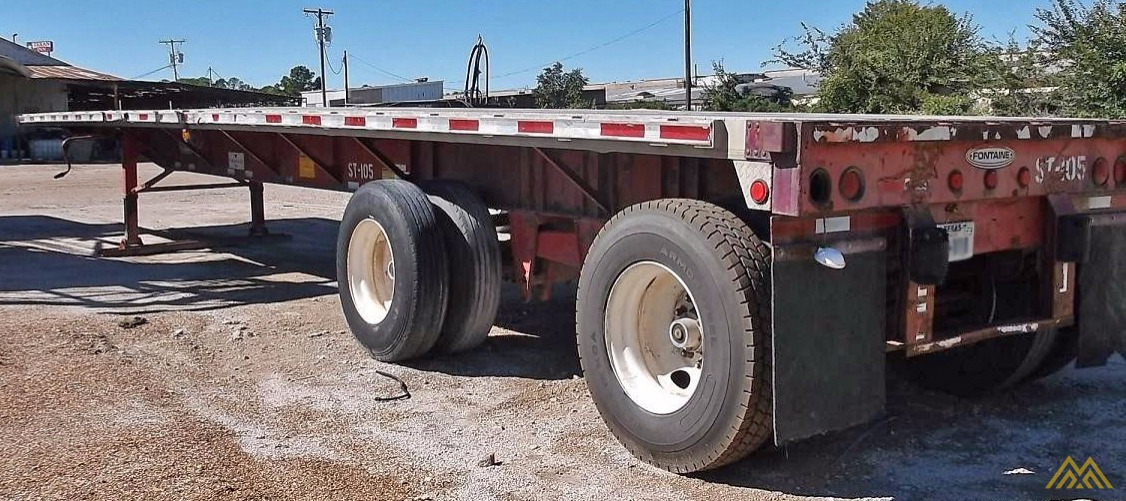 Fontaine LFTW-5-8045 WSK Flat Bed Trailer 3