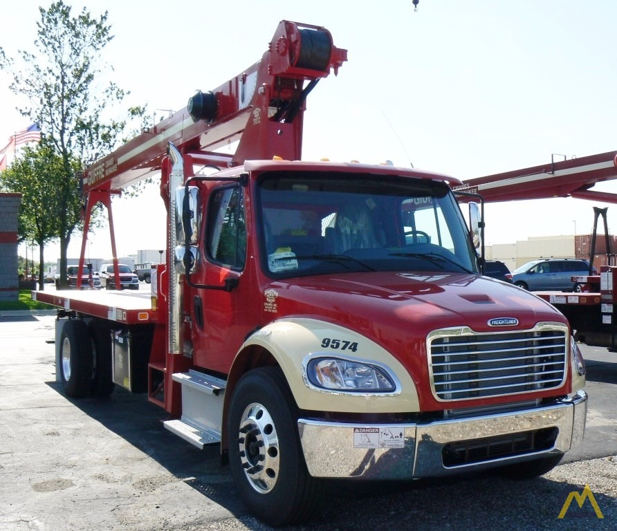 FOR SALE OR RENT! NEW 19 TON MANITEX 1970C 2013 FREIGHTLINER M2 AUTO SINGLE  AXLE SOLD