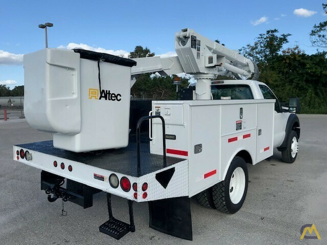 Altec AT37G 42' Articulating Telescopic Boom Aerial Bucket Truck on Ford F550 4