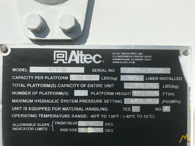Altec AT37G 42' Articulating Telescopic Boom Aerial Bucket Truck on Ford F550 28