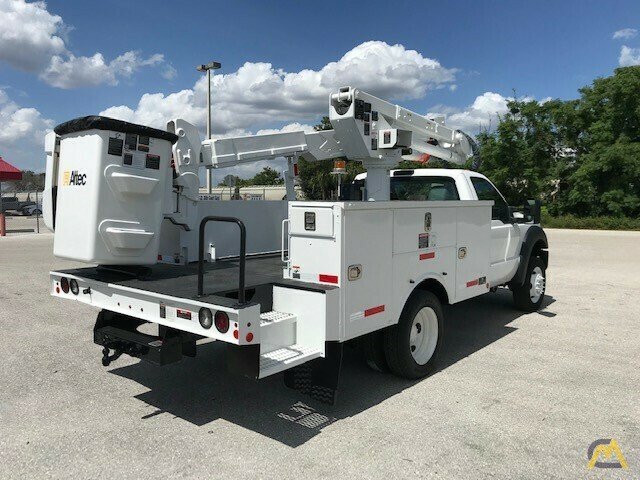 Altec AT37G 42' Articulating Telescopic Boom Aerial Bucket Truck on Ford F550 5