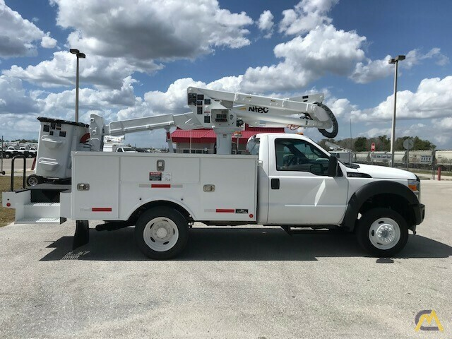 Altec AT37G 42' Articulating Telescopic Boom Aerial Bucket Truck on Ford F550 7