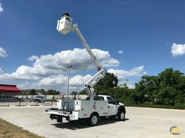 Altec AT37G 42' Articulating Telescopic Boom Aerial Bucket Truck on Ford F550 24