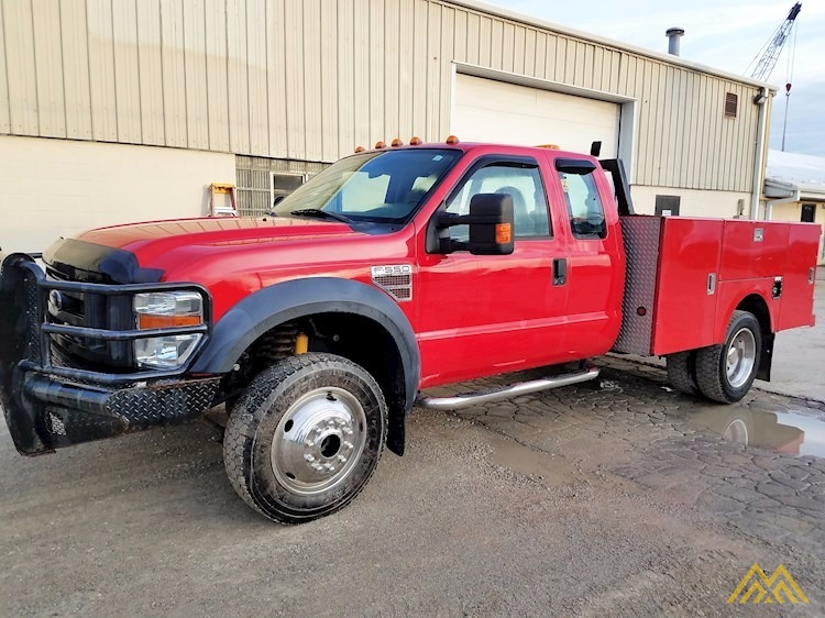 Ford F550 Mechanics Truck 1