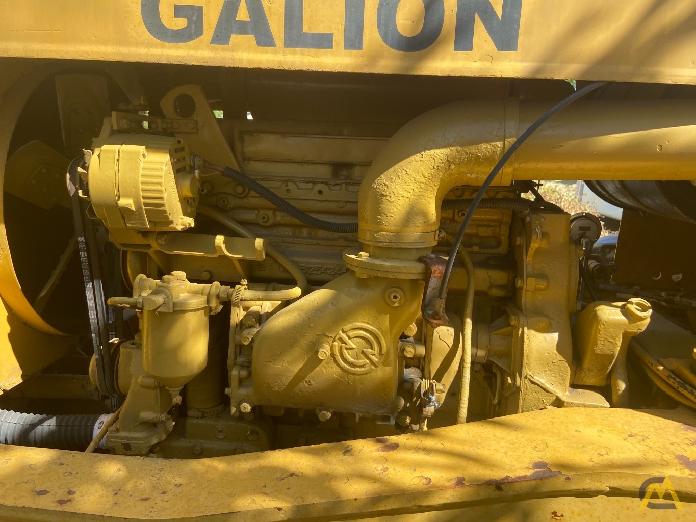 Galion 150FA 15-Ton Down Cab Rough Terrain Crane 9