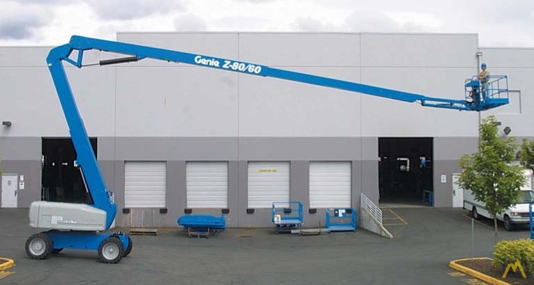 Genie Z-80/60 Articulating Boom Lift 0