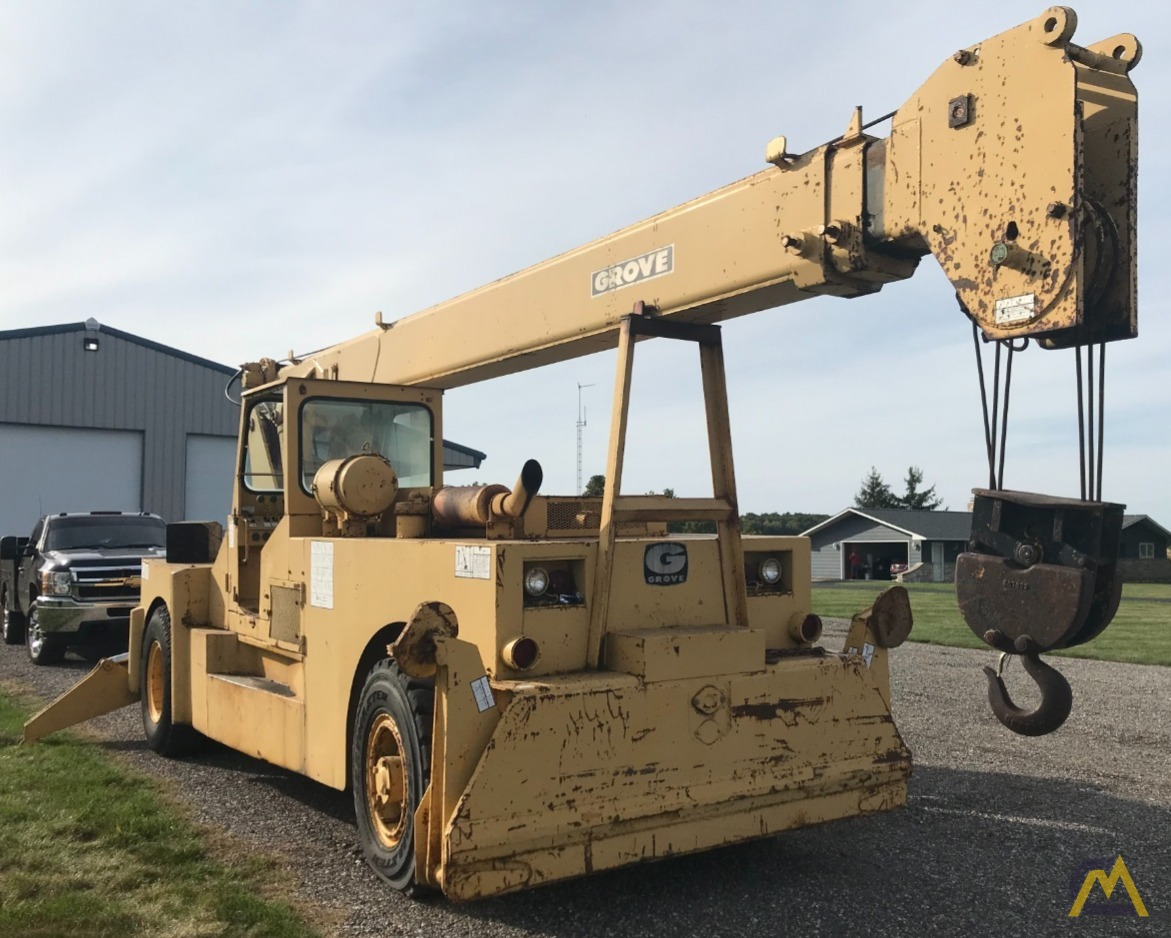 Grove IND1012D 17.5-ton Industrial Pick and Carry Crane 0