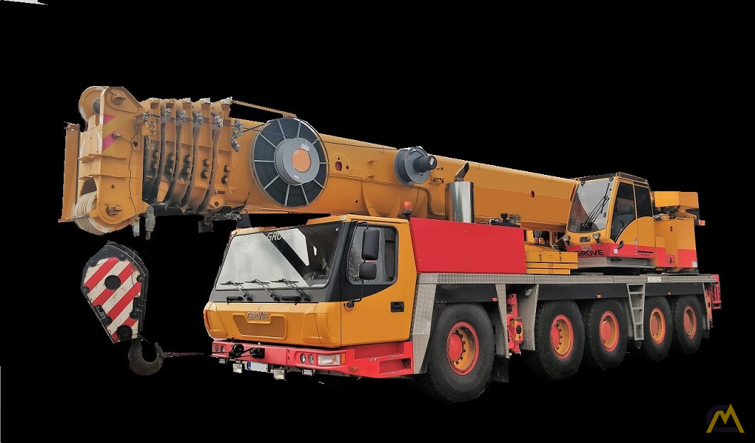 Grove GMK 5130-1 130-Ton All Terrain Crane 0