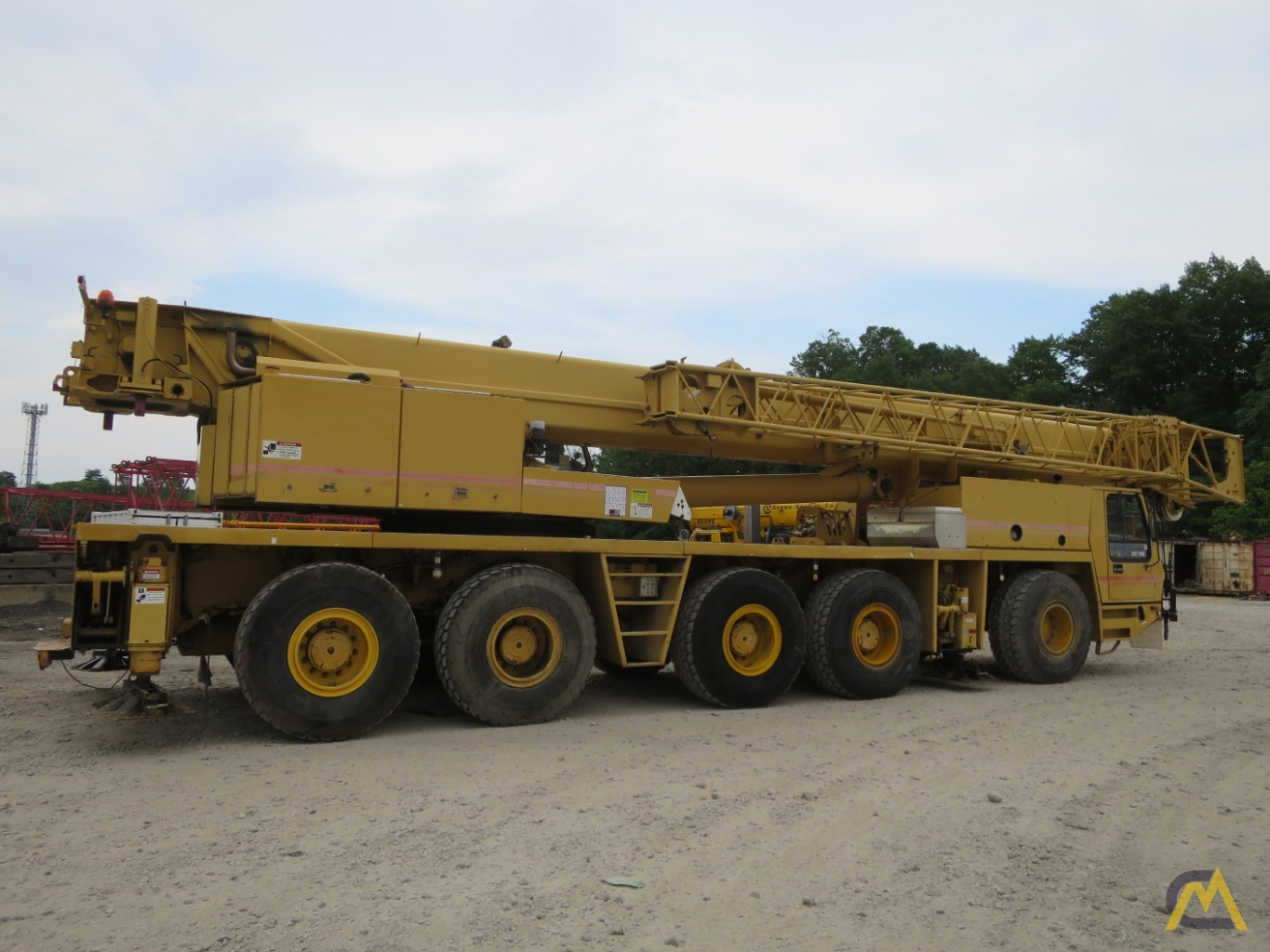 Grove GMK5150B All Terrain Crane-150 US ton 5