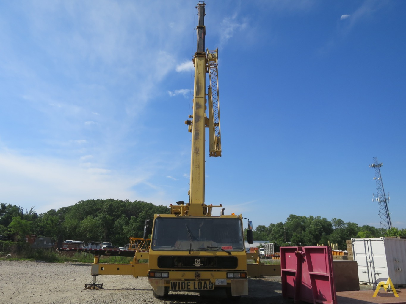 Grove GMK5150B All Terrain Crane-150 US ton 8