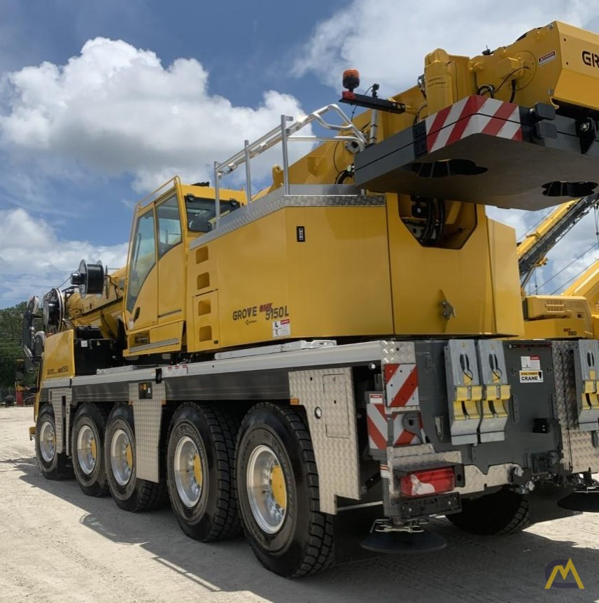 Grove GMK5150L 175-Ton All Terrain Crane 2