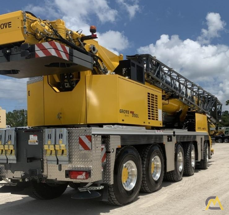 Grove GMK5150L 175-Ton All Terrain Crane 3