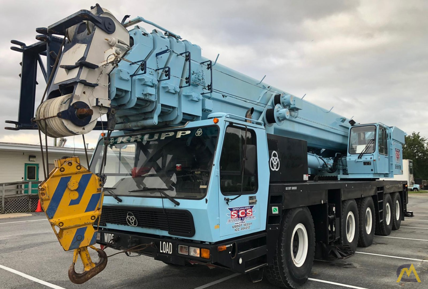 Grove GMK5175 175-Ton  All Terrain Crane 0