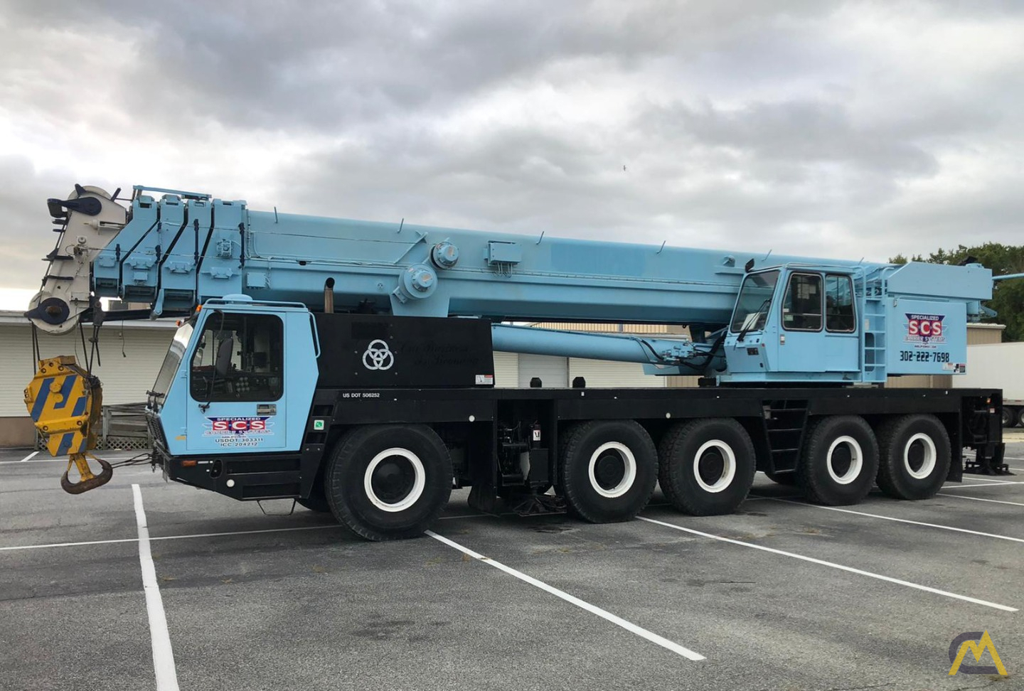 Grove GMK5175 175-Ton  All Terrain Crane 1