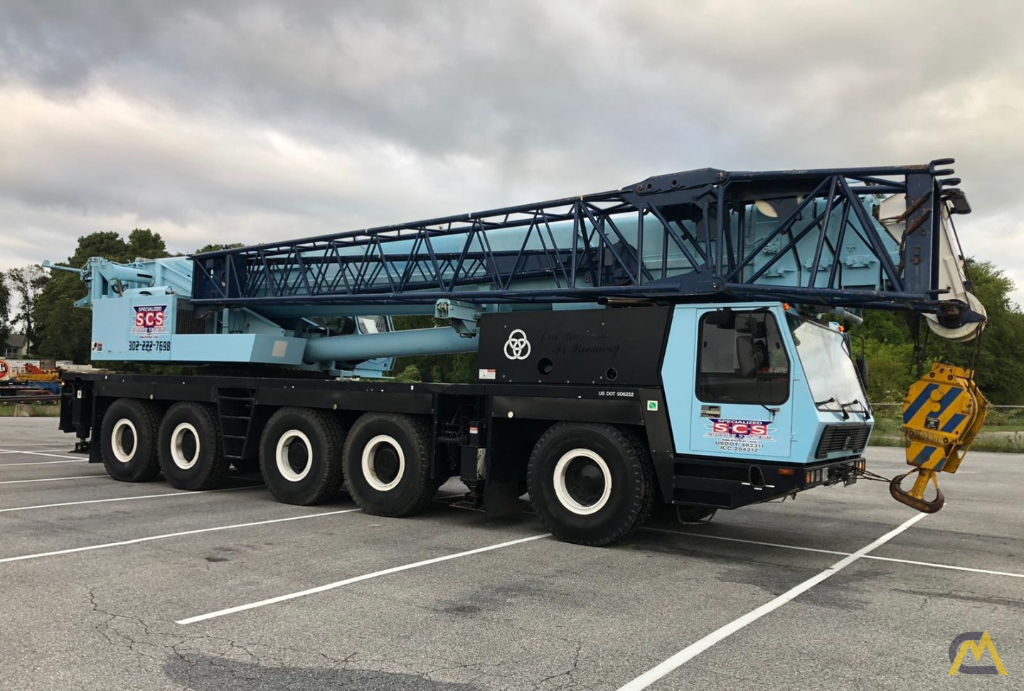 Grove GMK5175 175-Ton  All Terrain Crane 3