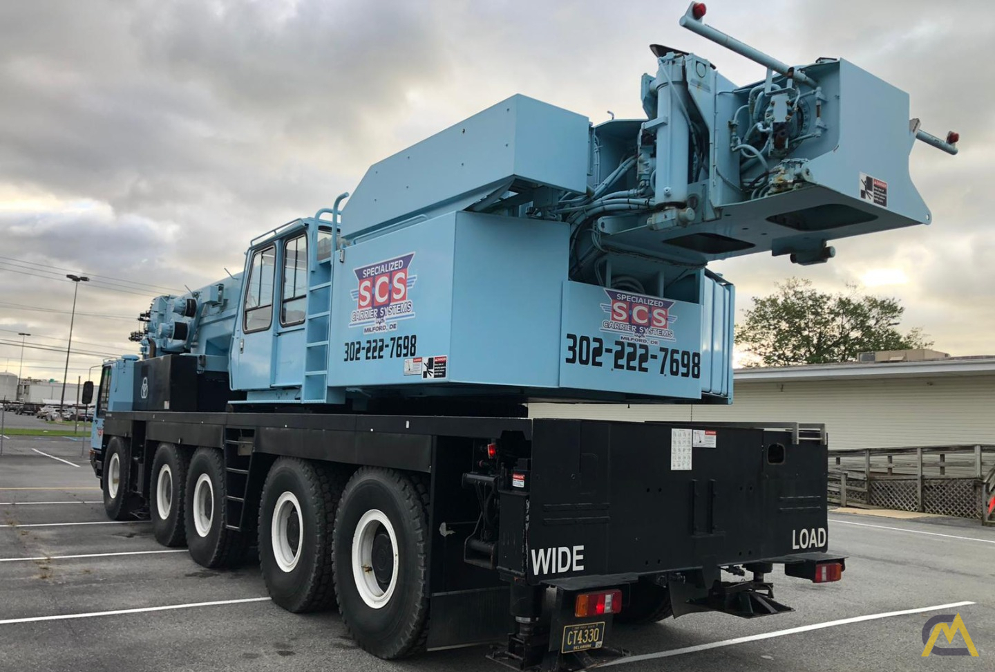 Grove GMK5175 175-Ton  All Terrain Crane 4