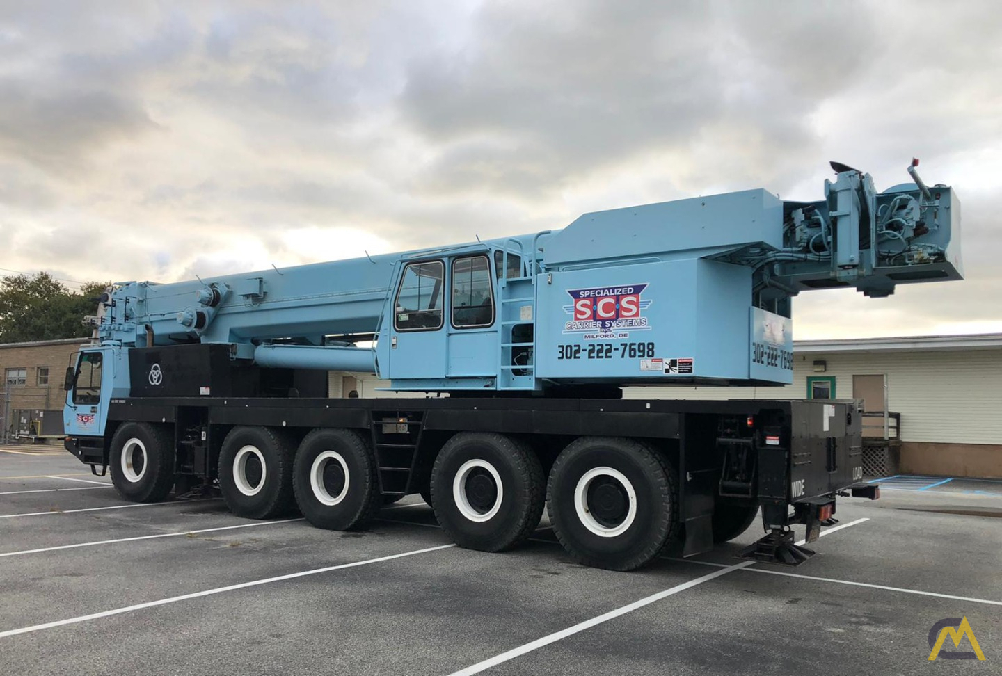 Grove GMK5175 175-Ton  All Terrain Crane 5
