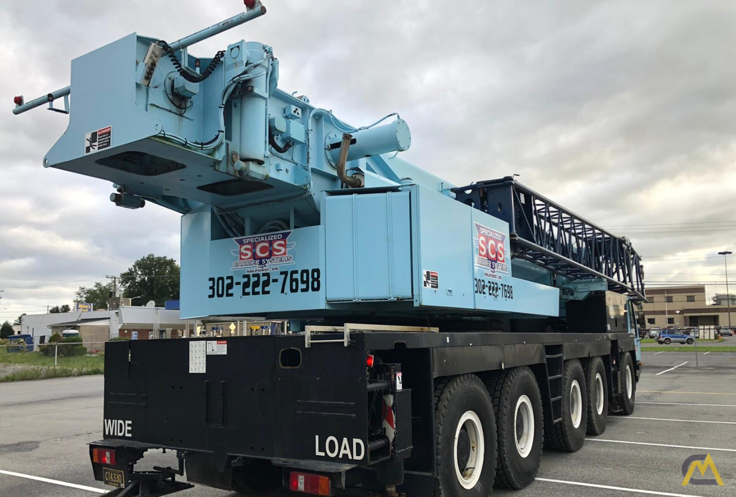 Grove GMK5175 175-Ton  All Terrain Crane 8