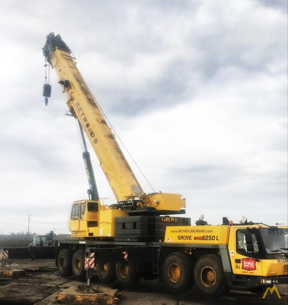 Grove GMK6250-L 250-Ton All Terrain Crane 1
