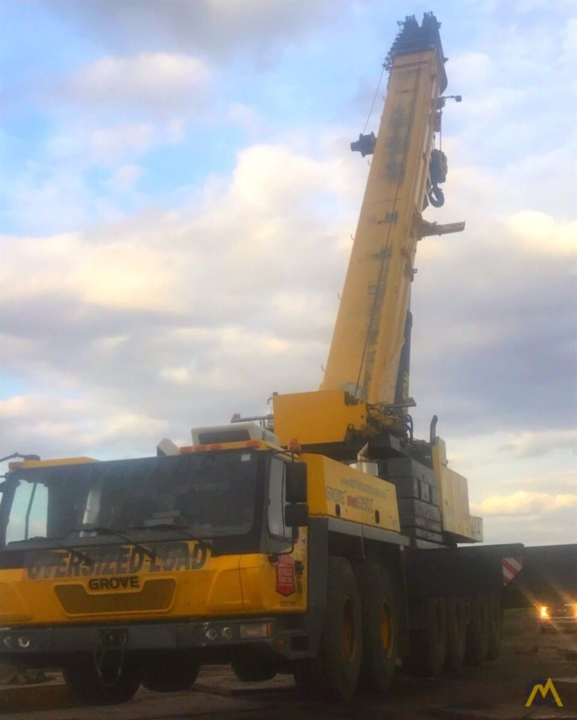Grove GMK6250-L 250-Ton All Terrain Crane 2