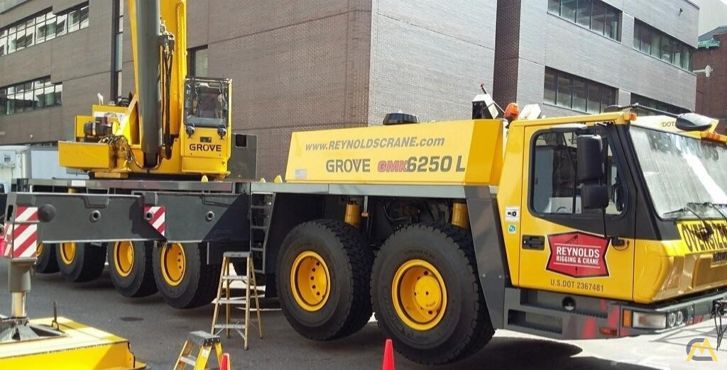 Grove GMK6250-L 250-Ton All Terrain Crane 0