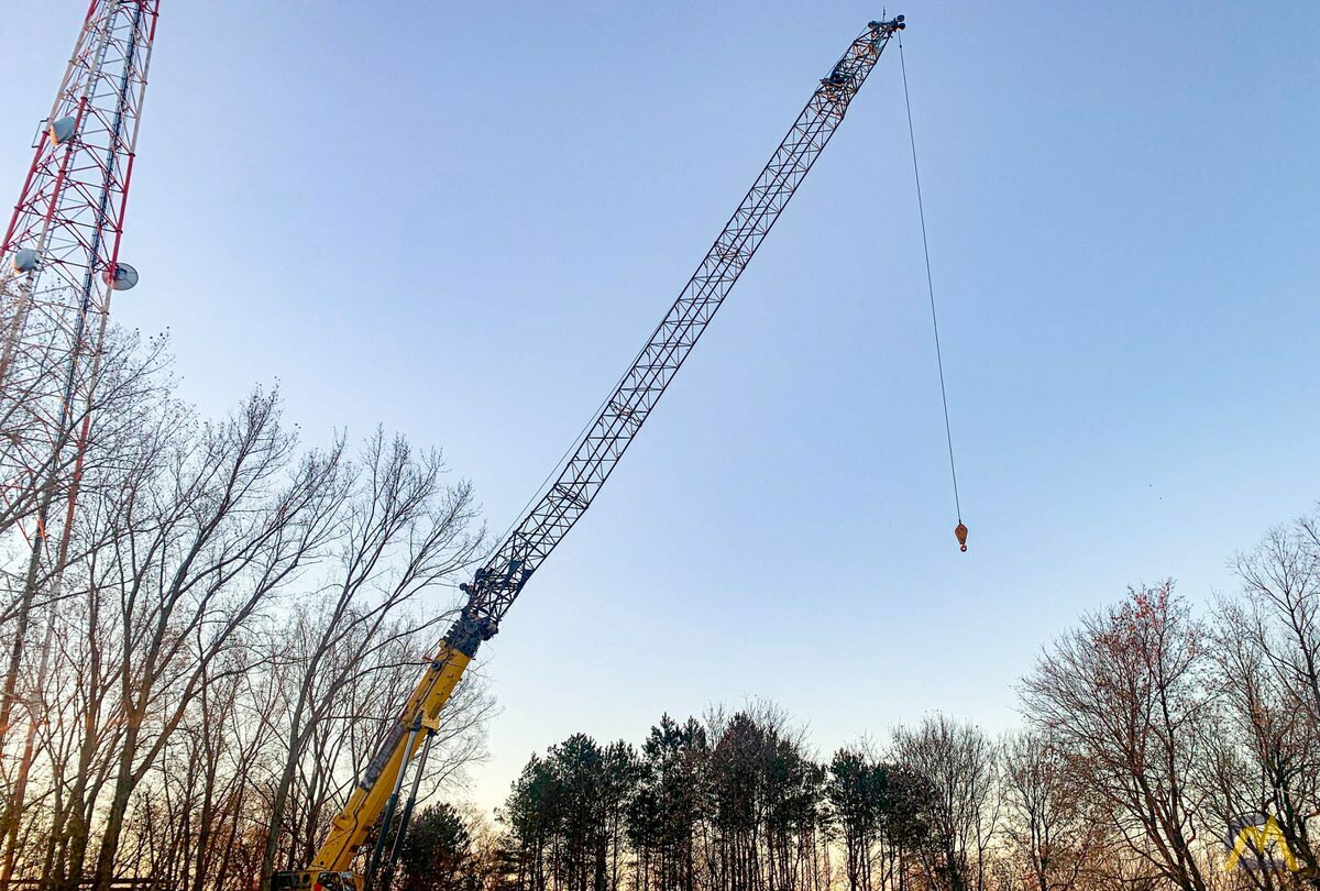 Grove GMK7550 550-ton All Terrain Crane 1