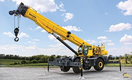 Grove GRT8100 100-Ton Rough Terrain Crane 0