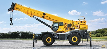 Grove GRT8100 100-Ton Rough Terrain Crane 1