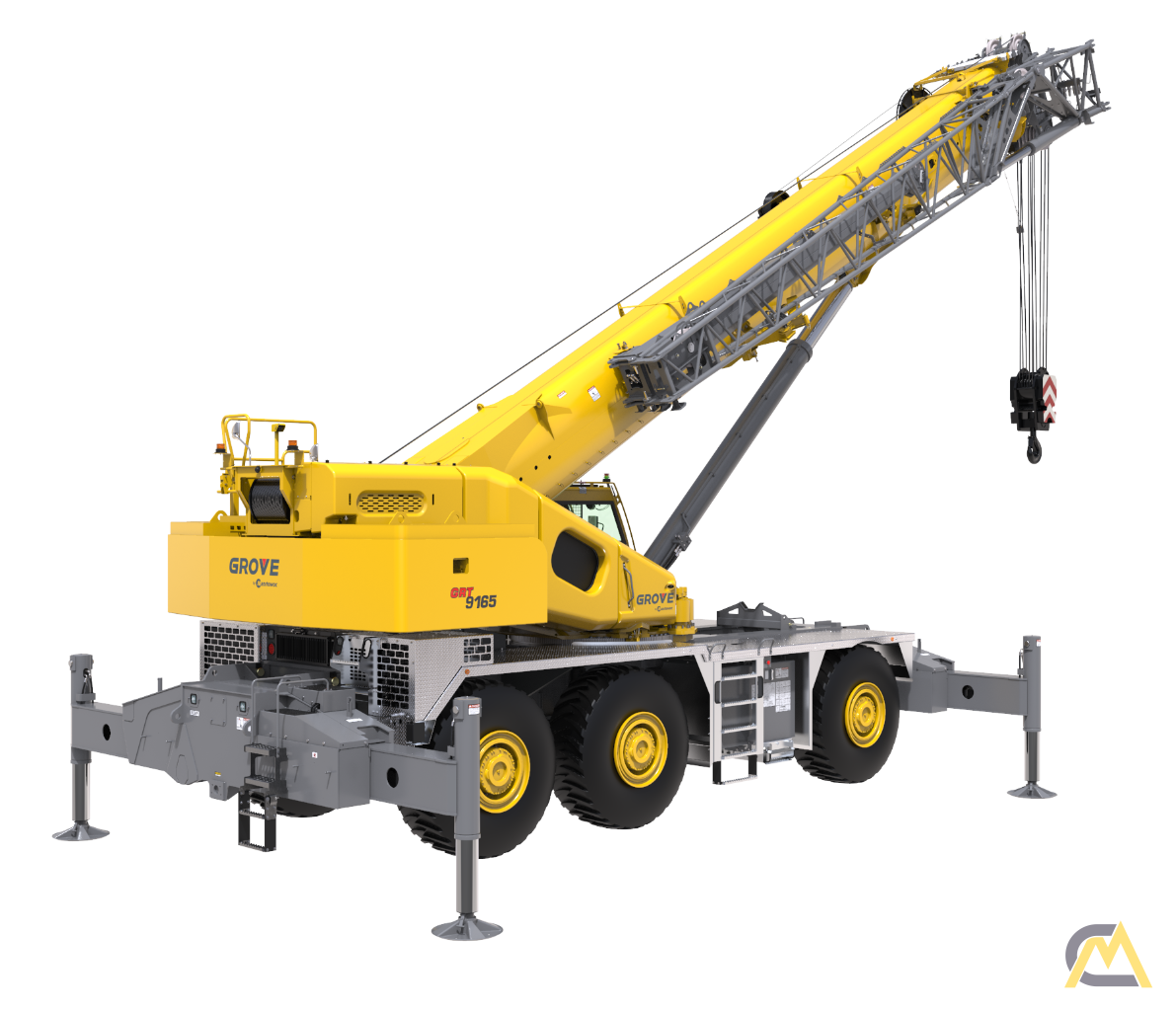 Grove GRT9165 165-Ton Rough Terrain Crane 2