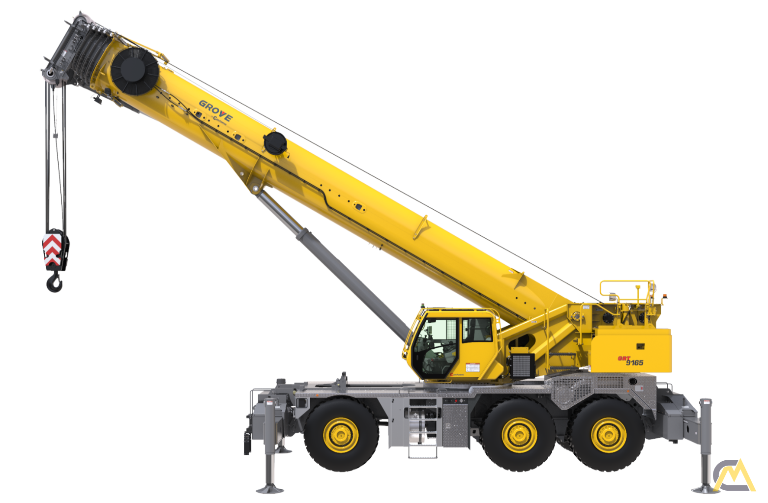 Grove GRT9165 165-Ton Rough Terrain Crane 0