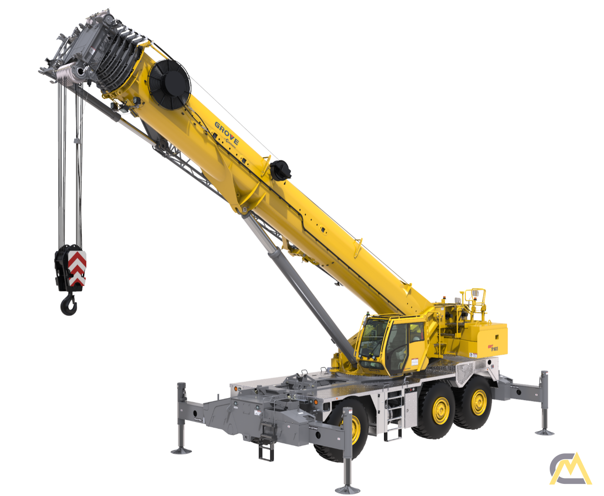 Grove GRT9165 165-Ton Rough Terrain Crane 1