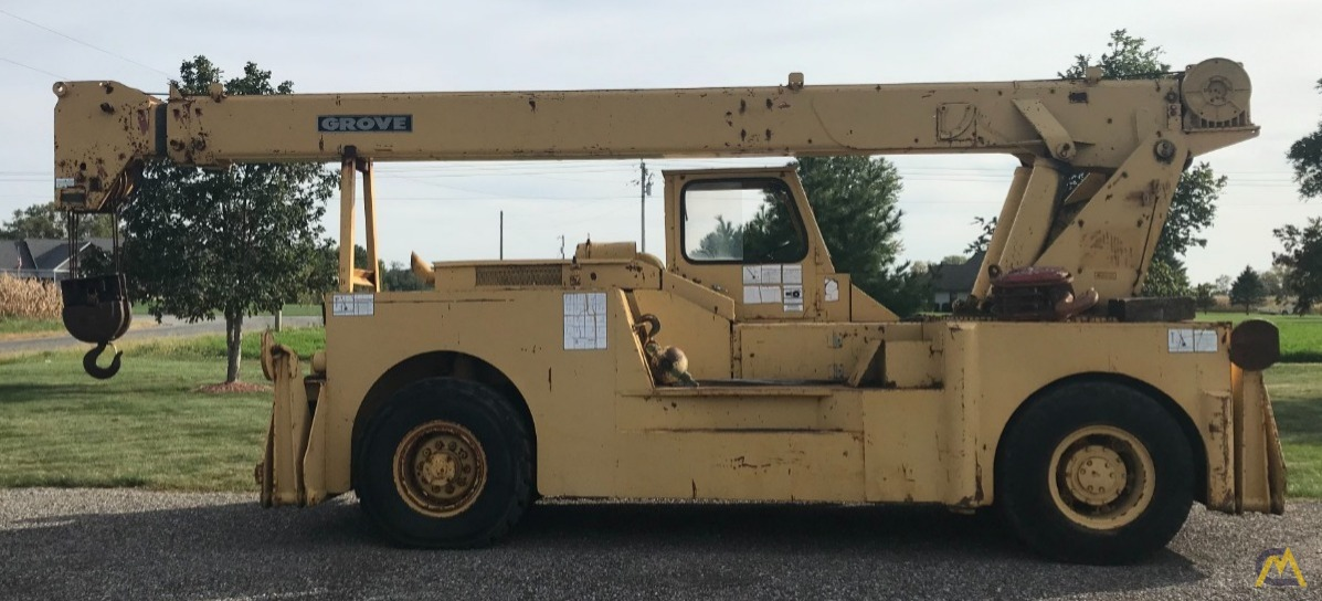 Grove IND1012D 17.5-ton Industrial Pick and Carry Crane 1