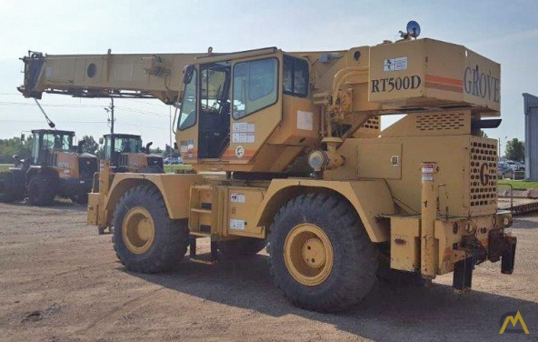 Grove RT530D 30-Ton Rough Terrain Crane 2