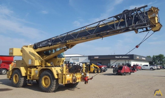 Grove RT530D 30-Ton Rough Terrain Crane 0