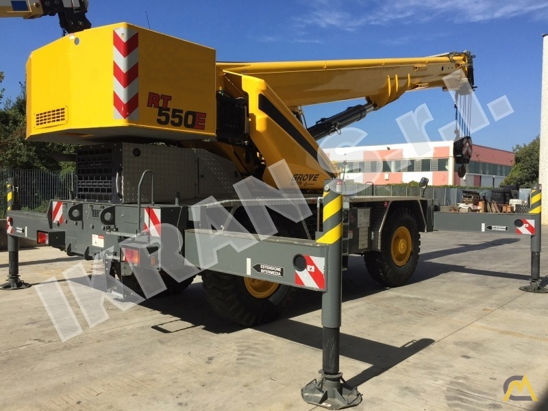 Grove RT550E 45-ton Rough Terrain crane 2
