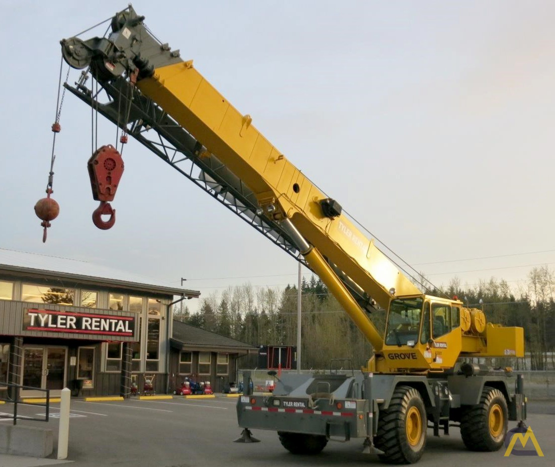 Grove RT650E 65-ton Rough Terrain Crane For Sale & Material Handlers 6390  CraneMarket