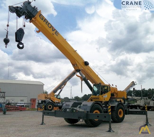Grove RT760E 60-Ton Rough Terrain Crane 0