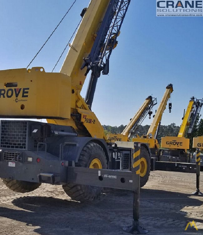 Grove RT765E-2 65-Ton Rough Terrain Crane 3