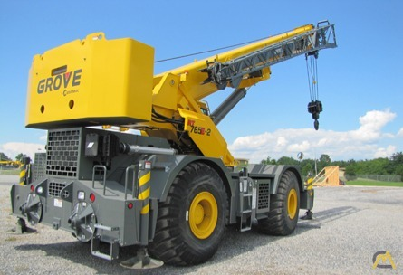 Grove RT765E-2 65-Ton Rough Terrain Crane 2
