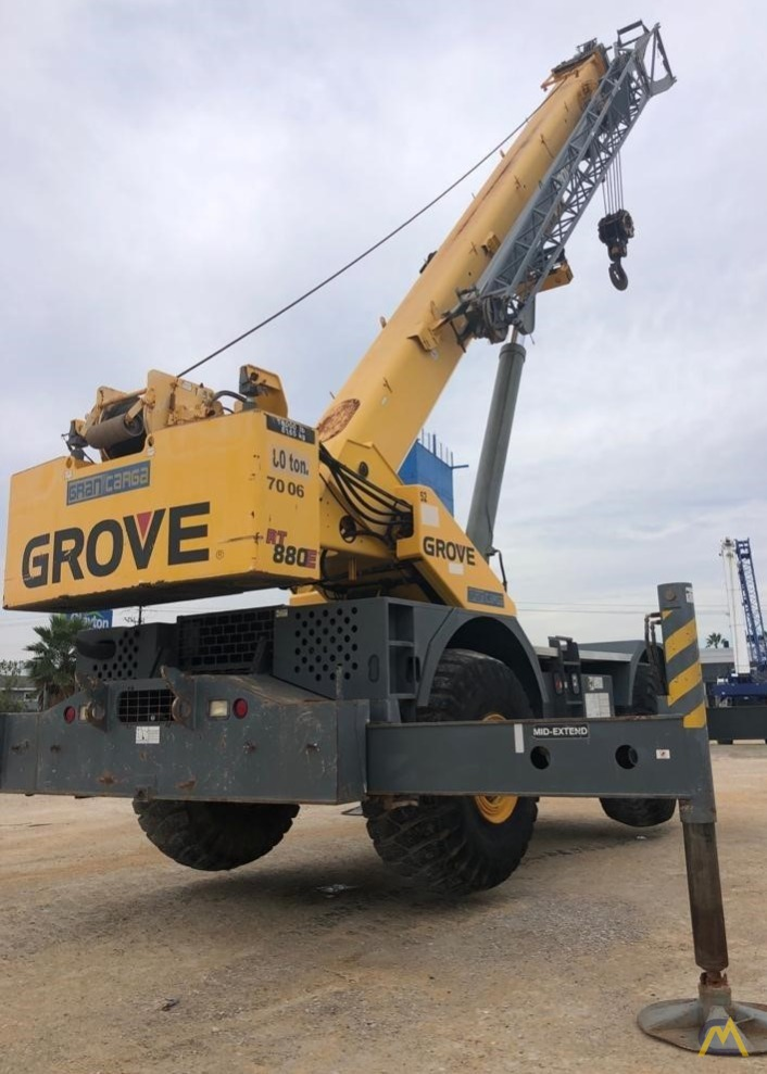 Grove RT880E 80-Ton Rough Terrain Crane 2
