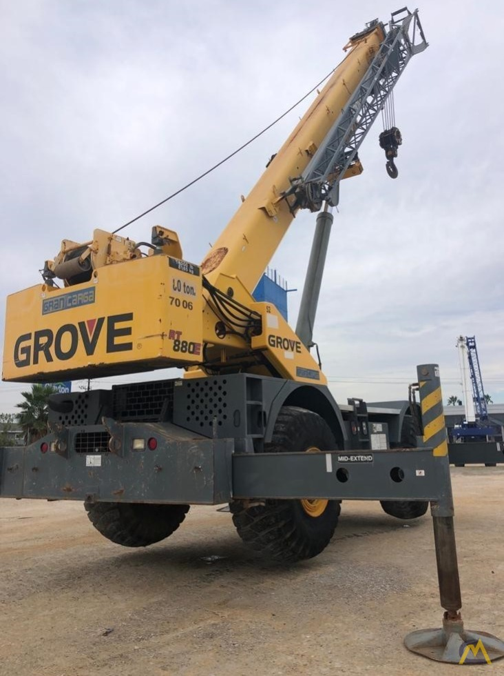 Grove RT880E 80-Ton Rough Terrain Crane 5