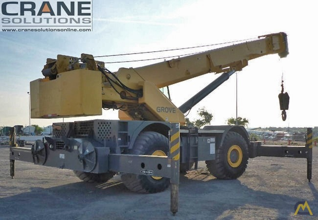 Grove RT880E 80-Ton Rough Terrain Crane 1