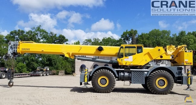 Grove RT880E 80-Ton Rough Terrain Crane 0