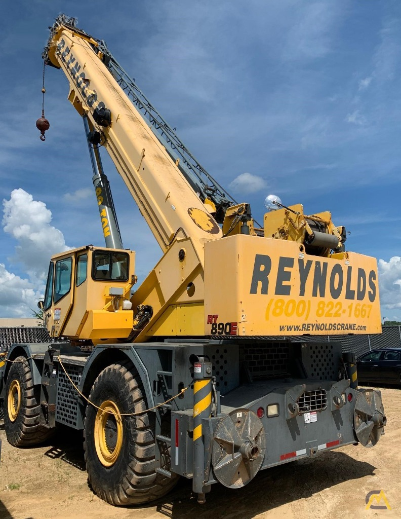 Grove RT890E 90-Ton Rough Terrain Crane 1